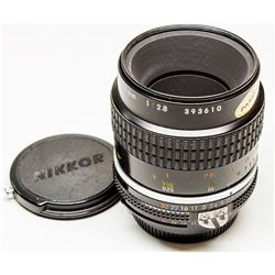 Nikkor  55mm Micro f 2.8 Manual Lens