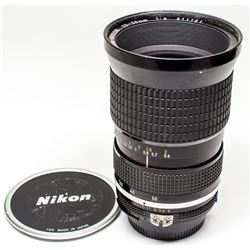 Nikkor 25mm-50mm f 4 Manual Lens