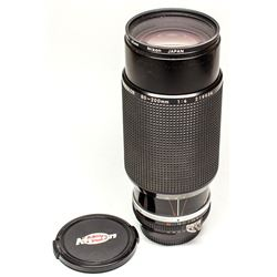 Nikkor 80-200mm Zoom f 4 Manual Lens