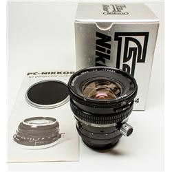 PC-Nikkor 28mm f/4.0 Lens with original box and manual