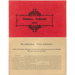 Pamphlet for Alamosa