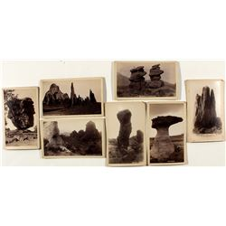 Seven Different Garden of the Gods Cabinet Cards (Hiestand)