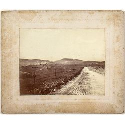 Nicely Mounted Cripple Creek Photograph