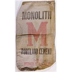 Monolith Portland Cement Bag