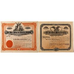 Lot of 2: Colorado Mining Stock Certificates