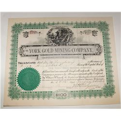 Denver County Stock Certificate Group
