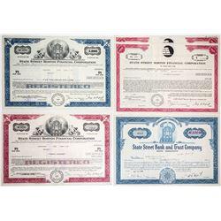 State Street Boston Financial Bond Certificates (5)