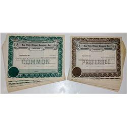Bay State Slipper Company Stock Certificates (59)