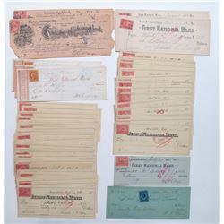 Michigan Check Collection w/ Adhesive Revenues