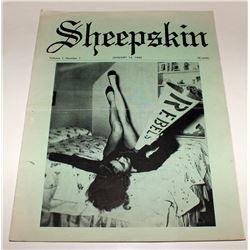 First Volume, First Edition of UNLV Sheepskin Magazine