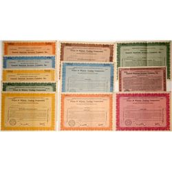 Investment Company Stock Certificate Specimens (11)