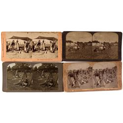 Spanish-American War Stereo View Group