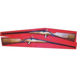 Flobert .22 tip up octagon barrel rifle