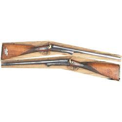 1800's 10ga underlever shotgun