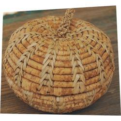 """6"""" lidded Northwest Indian basket"""
