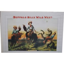 Buffalo Bill Wild West Show advertising posters
