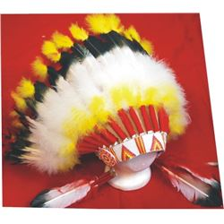 Western Costume Co, marked indian head dress