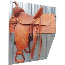 swell fork saddle, 1910 JM Hayes, Jefferson City MO tree