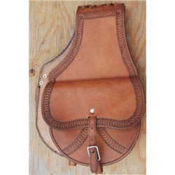 RB Gamo border tooled saddle pockets