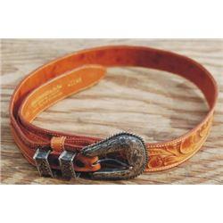 Tex Tan tooled belt