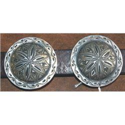 "Wimmer 2""  silver conchos"