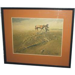 1974 framed Frank McCarthey