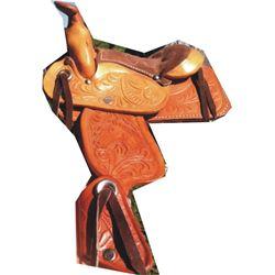 cute little salesman's sample saddle