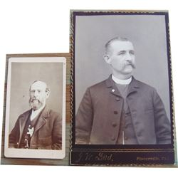early Placerville, CA lawman cabinet card