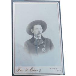 old Nebraska lawman cabinet card