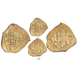 Mexico City, Mexico, cob 4 escudos, Charles II, assayer L, from the 1715 Fleet, with hand-signed Mel