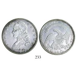 USA (Philadelphia mint), half dollar Capped Bust, 1834, small date, small stars, small letters.