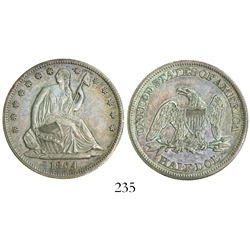USA (Philadelphia mint), half dollar Seated Liberty, 1864.