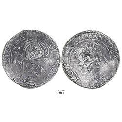 "Utrecht, Netherlands, ""lion"" daalder, 1617, ex-Sebring, very rare provenance."