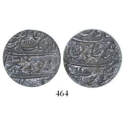 Surat, India (Mughal Empire), 1 rupee, Aurangzeb (1658-1707), AH1113 (1702), encapsulated ICG VF20.