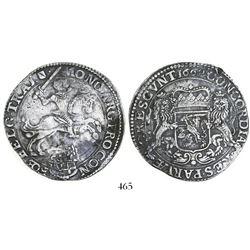 "Utrecht, United Netherlands, ""rider"" ducatoon, 1662."