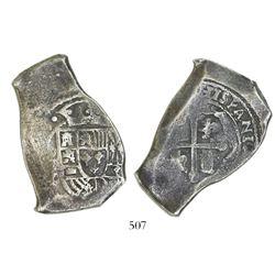 Mexico City, Mexico, cob 8 reales, (171)5?J.