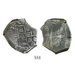 Mexico City, Mexico, cob 4 reales, (17)13J.