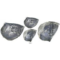 Mexico City, Mexico, cob 4 reales, (1)715(J).