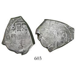 Mexico City, Mexico, cob 4 reales, 1731F.