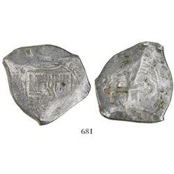 Mexico City, Mexico, cob 8 reales, (16)93(L), very rare.