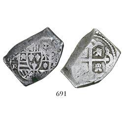Mexico City, Mexico, cob 4 reales, (1729-30)R.