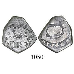 Guatemala, cob 2 reales, 1740(J).