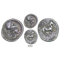 "Akarnania, Anaktorion, AR stater, ca. 350-300 BC, ""pegasus."""