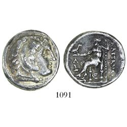 Kings of Macedon, AR tetradrachm, Alexander III (the Great), 336-323 BC, Kassander as regent, 317-30