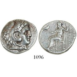 Seleukid Kings of Syria, AR tetradrachm, Seleukos I Nikator, 312-281 BC, struck in the name and type