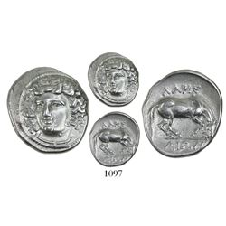 Thessaly, Larissa, AR drachm, ca. 356-342 BC.