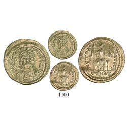 Byzantine Empire (Constantinople mint, 2nd officina), AV solidus, Justin II (565-578 AD), struck 567