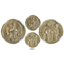 Byzantine Empire (Constantinople mint), AV histamenon nomisma, Romanus III (1028-34), encapsulated N
