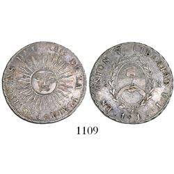 Argentina (River Plate Provinces), Potosi mint, 2 reales, 1813J.