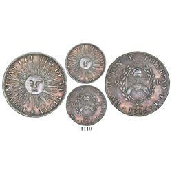 Argentina (River Plate Provinces), Potosi mint, 2 reales, 1815F.